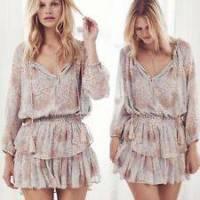 Loveshackfancy ruffled tier dress Angle2