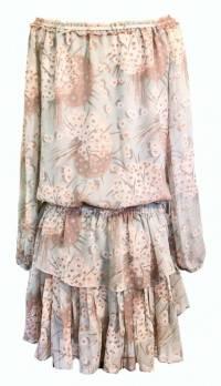 Loveshackfancy ruffled tier dress Angle3