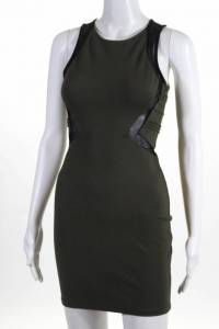 Parker Racer side bodycon dress