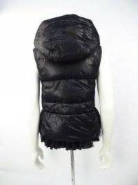 Red Valentino Lace and tie puffy jacket Angle6