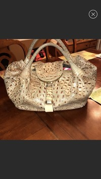 Fendi Crocodile Spy Bag