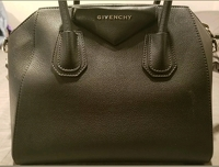Givenchy Antigona Medium Black Goatskin Handbag Angle5