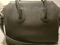 Givenchy Antigona Medium Black Goatskin Handbag Angle7