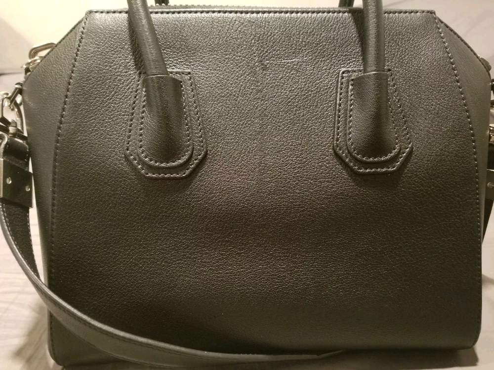 Givenchy Antigona Medium Black Goatskin Handbag