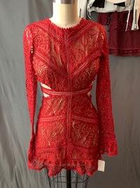 For Love & Lemons Women's Emerie Cut Out Dress