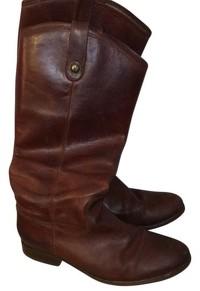 Cognac Melissa Boots