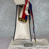Gucci small white Sylvie Bag Angle6