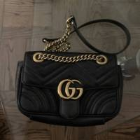 GG Gucci Marmont small matelassé shoulder bag