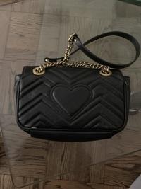 GG Gucci Marmont small matelassé shoulder bag Angle3