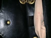 GG Gucci Marmont small matelassé shoulder bag Angle5