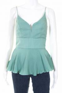 Nicole Miller Collection Womens Mint Peplum