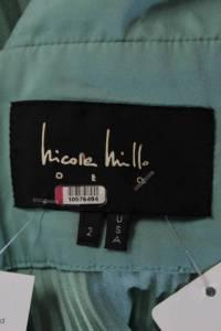 Nicole Miller Collection Womens Mint Peplum Angle5