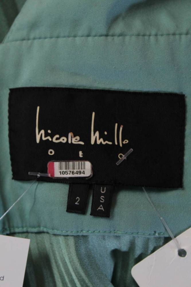 Nicole Miller Collection Womens Mint Peplum