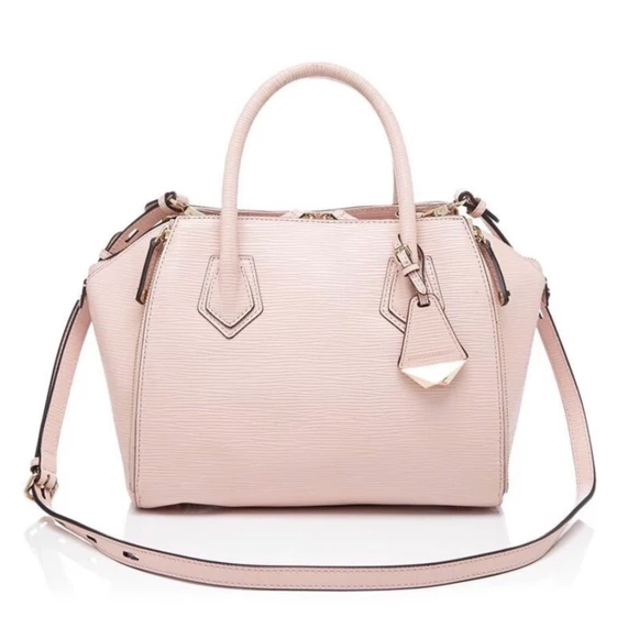Rebecca Minkoff  Perry Satchel Light Pink