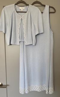St John Dress and Sweater