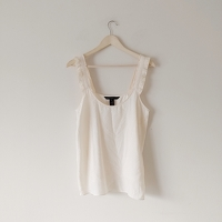 Marc By Marc Jacobs NWOT Silk Ruffle Strap Cami Angle1