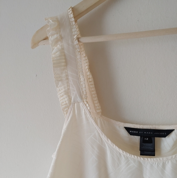 Marc By Marc Jacobs NWOT Silk Ruffle Strap Cami