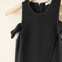 Parker Cut-Out Shoulder Bodycon Dress Angle3