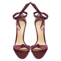 Alexandre Birman satin bow sandals Angle3