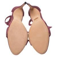 Alexandre Birman satin bow sandals Angle4