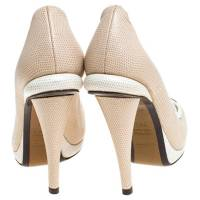 Fendi Color Block Penny Loafers Angle4
