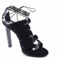 Saint Laurent velvet Strappy sandals