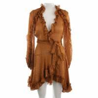 Zimmermann Wrap mini dress with ruffles