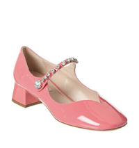 Pretty pink Mary Janes