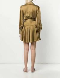 Zimmerman Silk wrap dress 2019 collection hot!! Angle2