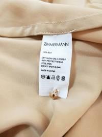 Zimmerman Silk wrap dress 2019 collection hot!! Angle4
