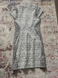 DVF Animal Print Dress Angle3