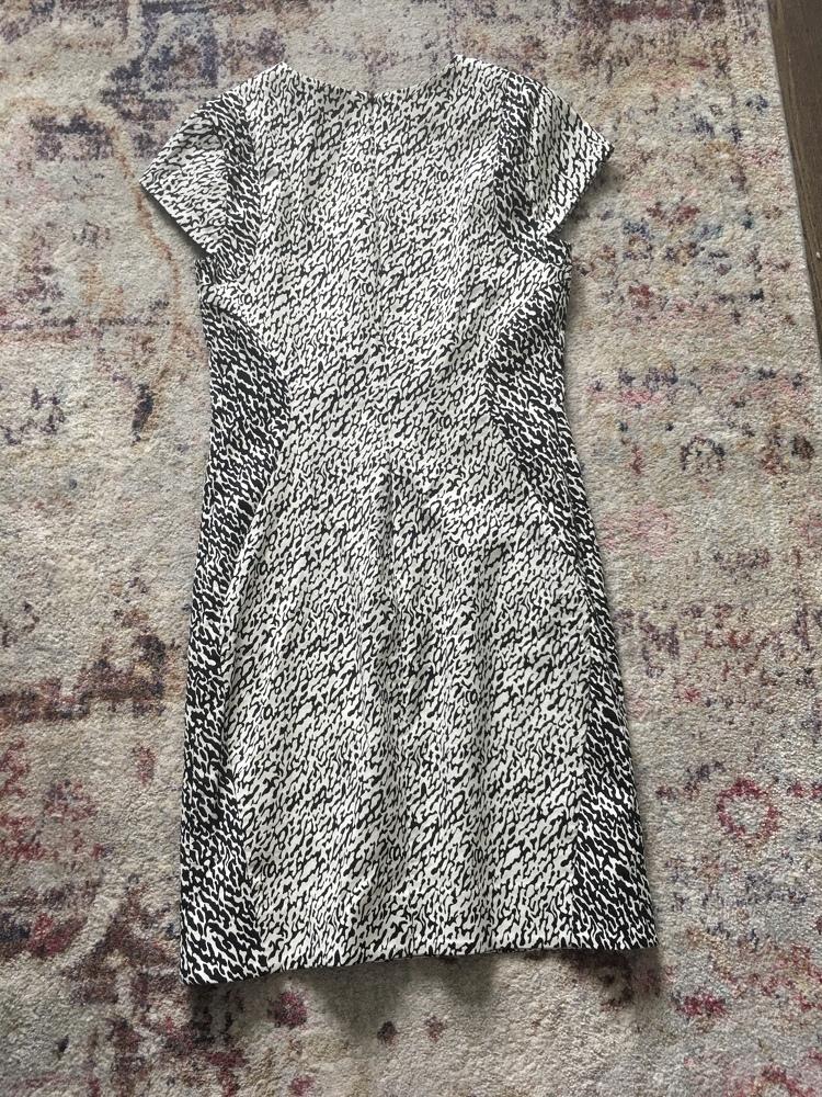 DVF Animal Print Dress