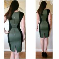 Quilted Jason Wu body con green dress Angle3