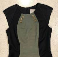 Quilted Jason Wu body con green dress Angle6