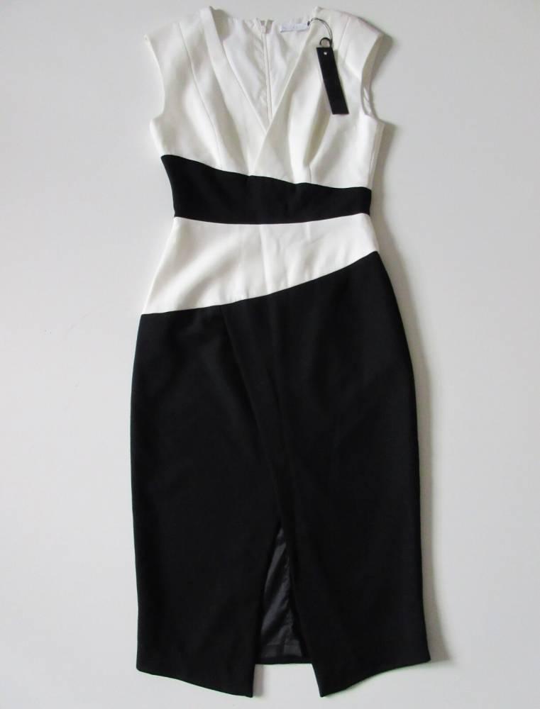 Colorblock Sheath Dress NWT by Black Halo