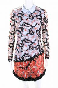 NWT Mary Katrantzou Embroidered mini dress