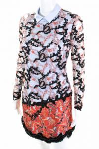 NWT Mary Katrantzou Embroidered mini dress Angle2