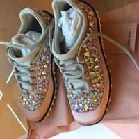 Miu Miu stud sneakers Angle3