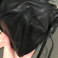 Authentic Miu Miu Vitello Lux Leather Satchel Angle3