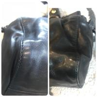 Authentic Miu Miu Vitello Lux Leather Satchel Angle6
