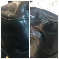 Authentic Miu Miu Vitello Lux Leather Satchel Angle7