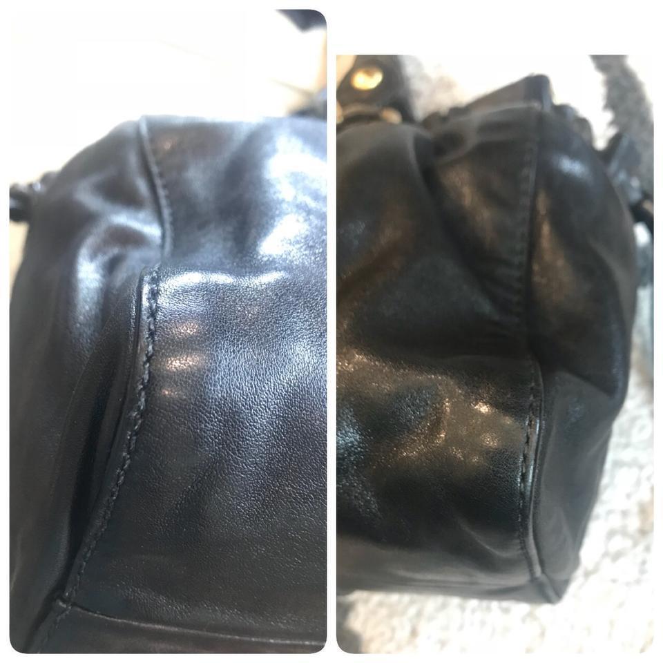 Authentic Miu Miu Vitello Lux Leather Satchel