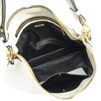 Miu Miu Vitello flap fold over satchel Angle3