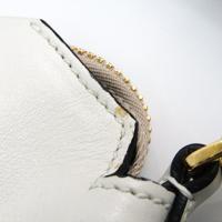 Miu Miu Vitello flap fold over satchel Angle5
