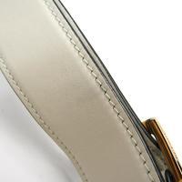 Miu Miu Vitello flap fold over satchel Angle6