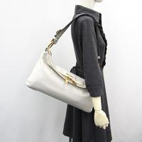 Miu Miu Vitello flap fold over satchel Angle2