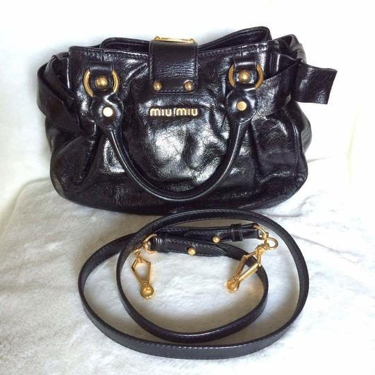 Black Miu Miu Satchel