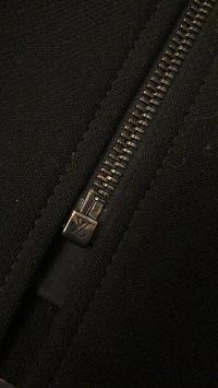 LV Gorgeous Wool Coat Angle5