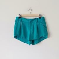 Alice + Olivia NWT Butterfly Silk Shorts