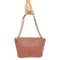 Tory Burch Shoulder Bag With Logo Embroidery Angle2